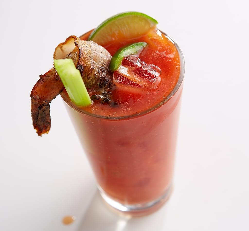 Bloody Mary at Diz's Cafe