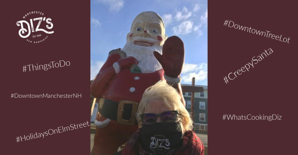 Diz's Meets Creepy Santa