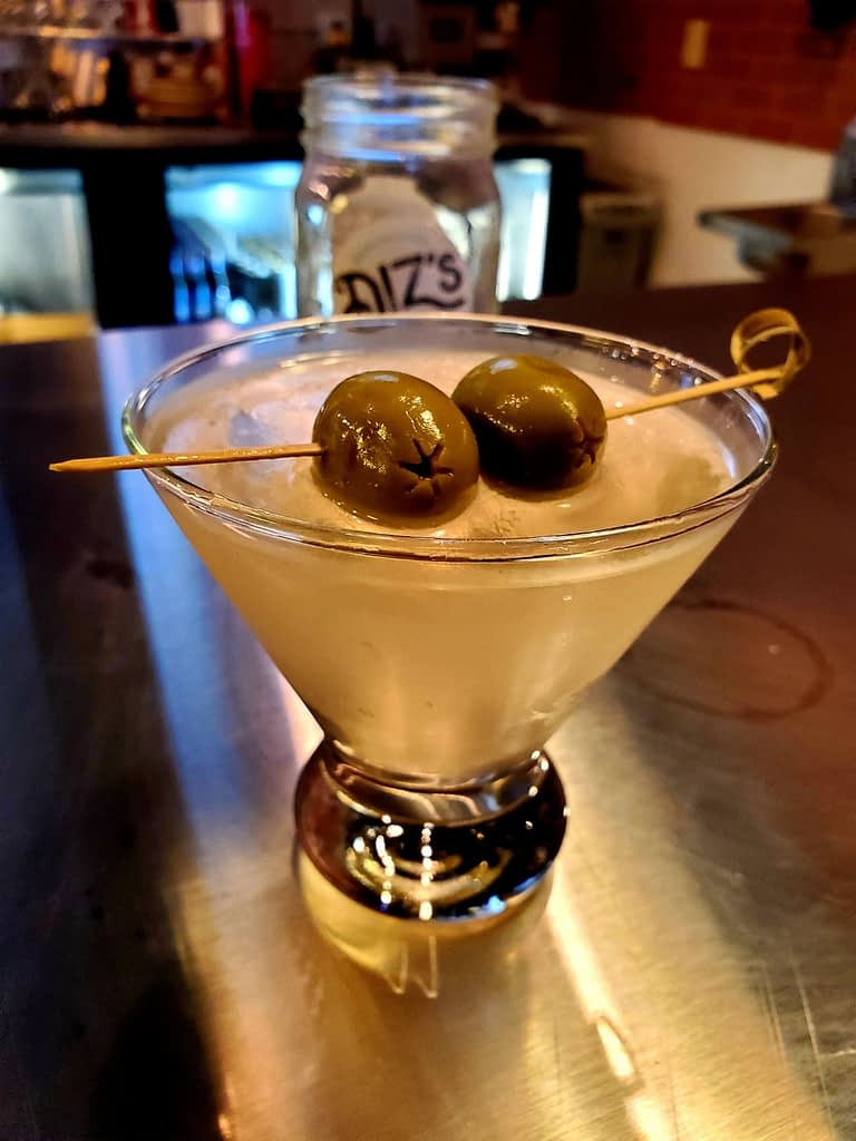 Abbie's Dirty Martini