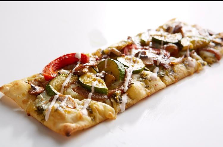 Grilled Veggie Flatbread _ Diz's Cafe Downtown Manchester NH